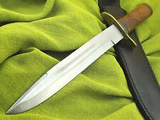 Jagdmesser Messer Bowie Buschmesser Damast Machete GROSS Stahl --38cm-- (3352B)