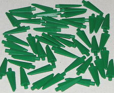 Lego Lot of 50 New Green Spike Flexible 3.5L Ninjago Weapons Spear Parts