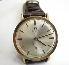 Vintage 1962 Omega  18k Yellow Gold  Ref H6620 Caliber 570 Watch