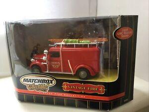 Matchbox Collectibles Model Of Yesteryear 92583 1937 GMC Rescue Van - BNIB