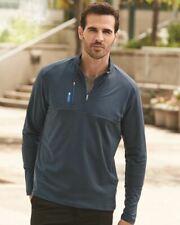Adidas Mixed Media Quarter-Zip Jacket A195