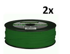 Lot of 2 METRA Install Bay 18 Gauge 500 Ft Primary wire Green 100% OFC Copper