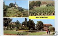 RADEBEUL b/ Dresden Mehrbildkarte AK ungebraucht DDR Postkarte