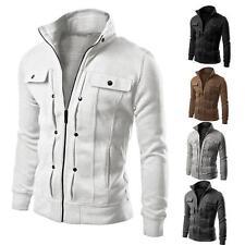 Unbranded Cotton Blend Long Coats & Jackets for Men