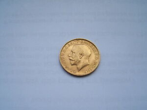1912 GEORGE V GOLD SOVEREIGN. CONDITION FINE. B