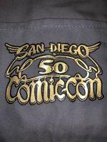 2019 SDCC Comic-Con 50 Boat Tote Bag With Retro Winged Logo