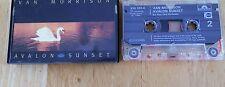 Van Morrison cassette- Avalon Sunset, UK 839262-4