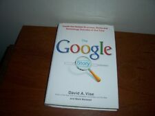 """The Google Story by David A. Vise (HB 055380457x """"First Edition"""")"""