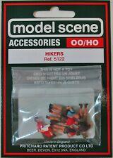 Modelscene Accessories 5122 - Hikers x 6 - (00) Railway Models