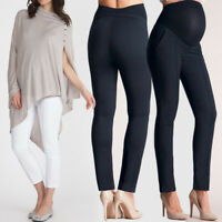 Women Belly Protect Maternity Clothes Pregnant Legging Long Pencil Pant Trousers