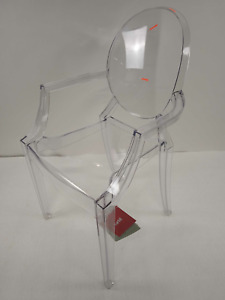 Kartell Louis Ghost Designer Stuhl Armlehnstuhl Esszimmerstuhl Sitz glasklar