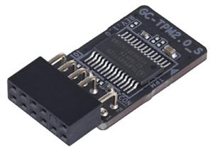 GIGABYTE GC-TPM 2.0_S (12-PIN), Compatible, Trusted Platform Module,Windows 11