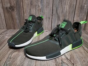 Adidas Star Wars 2019 Yoda Black Green Sneakers Size 12 Art FW3935 in EUC