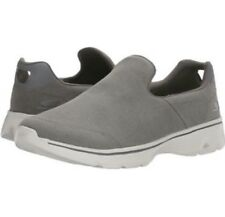 Skechers Go Walk 4 Magnificent Charcoal Slip On Shoes New Mens 10.5