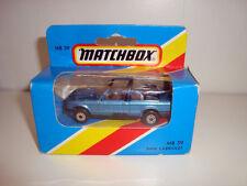 Matchbox 1981 superfast MB-39 bmw 323i cabriolet menthe modèle NEUF