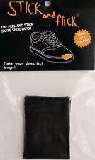 Shoe Goo alternative - Stick & Flick Patches - Black - Skate shoe repair