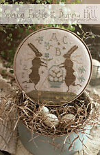 Spring Frolic at Bunny Hill With Thy Needle & Thread Cross Stitch Pattern