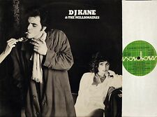 DJ KANE AND THE MILLIONAIRES self titled s/t same RAD 29 uk power pop LP EX+/VG