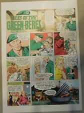Green Beret by John Celardo Color Syndicate Proof 2/25/1968 Size: 11 x 15 inches