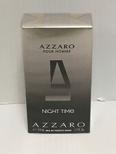NIGHT TIME By AZZARO POUR HOMME COLOGNE 1.7 OZ EDT Spray NEW IN SEALED BOX!