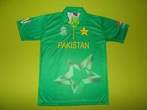 NEW Shirt PAKISTAN (L) PILANO SPORTS T20 ICC World Cup INDIA 2016 Cricket home