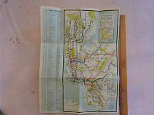 1965 ? New York City NY SUBWAY MAP MAP map OFFICIAL*  BROOKLYN Bronx in da house