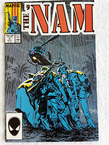 The 'Nam #6 (May 1987, Marvel) Vol #1 VF+