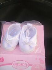CHAUSSURES BASKET BLANCHE POUPON CALIN BEBE COROLLE 36CM NEUVES