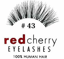 Red Cherry - falsche Wimpern Nr. 43 Echthaar