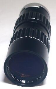 SOLIGOR 80-200mm ZOOM f/3.5 for Minolta MD Mount MC Camera Lens JAPAN