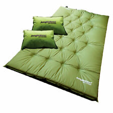 JUNGLE REEF Double Self-Inflating Mattress (205 x 120cm) + FREE 2 Pillows