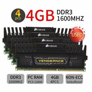 16GB kit 8GB kit Corsair Vengeance CMZ8GX3M2A1600C9 DDR3 1600MHz Memory Black UK
