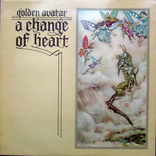 GOLDEN AVATAR A Change Of Heart LP Sudarshan Disc BBT108 1976