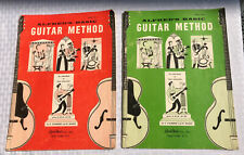 VINTAGE 1959 Lot ALFRED'S BASIC GUITAR METHOD books Book 2 And Book 3 New York