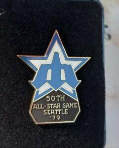 1979 SEATTLE MARINERS BASEBALL ALL STAR GAME PRESS PIN