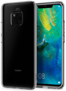 Huawei Mate 20 Pro   Spigen®[Liquid Crystal] Crystal Clear Slim Case Cover