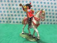 LANZICHENECCO a Cavallo con Troma   70 mm.  -  Elastolin  9073