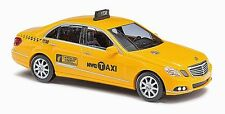 HO 1/87 Busch # 44211 Mercedes-Benz E-Class Taxi - NYC Livery