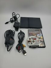 Sony Playstation 2 Slim Console BUNDLE (Wires, games, eye toy)  Tested working
