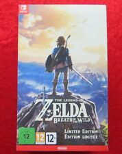 Nintendo Switch - Zelda Breath Of The wild Limited Collectors Edition Top PAYPAL