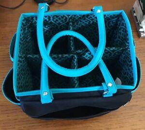 TOTE CRAFT BAG Organizer Storage Caddy 4 Art Sewing Knitting Crochet NEW No Tags