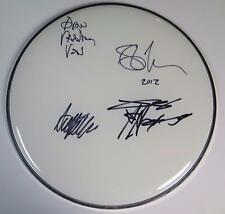 "MORBID ANGEL Signed Autograph 12"" Drum Head Drumhead by All 4 Members Metal"