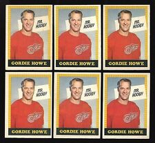 1969-70 OPC 1969 O-PEE-CHEE~#193~GORDIE HOWE~6 VARIATIONS (2 WITH #193)