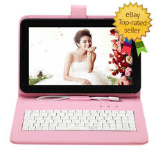 "9""Inch Android 4.4 Google Quad Core Dual Camera Wifi TABLET PC Free Keyboard 8GB"