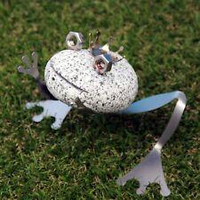 Frosch - kiss me - aus Granit und Edelstahl - Neu