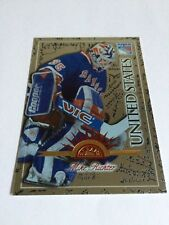 1997-98 Leaf Mike Richter United States Silver Mirror Insert New York Rangers SP