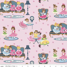 Fat Quarter Petite Treat Girls Pink Cotton Sewing Quilting Patchwork Fabric