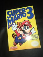 Super Mario Bros. 3 (Nintendo, NES) Complete -- Bros on the left -- first print
