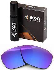 Polarized IKON Replacement Lenses For Oakley Breadbox Sunglasses Purple Mirror