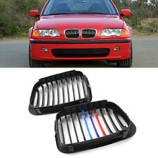 Front Grille Grill Air-Inlet Grill For BMW E46/316i/318i/ 320i/ 325i 1998-2001